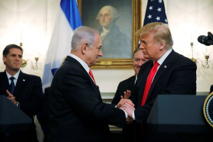 Trump recognizes Golan Heights as Israeli, boosting Netanyahu and angering Syria