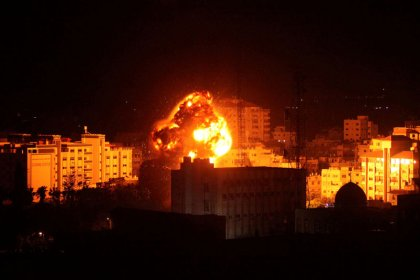 Israel, Hamas clash over Gaza, then truce reached