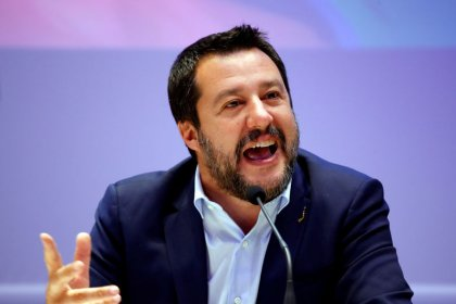 Italy's Salvini says China cannot be in control of sensitive data
