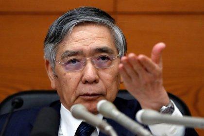 BOJ's Kuroda issues fresh warning of broad fallout from trade war