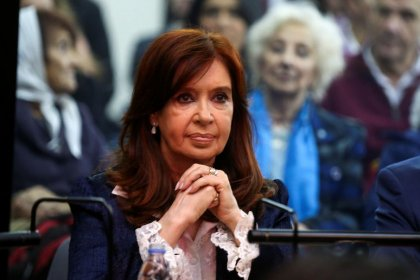 Argentina's Cristina Fernandez starts graft trial she blasts as 'smokescreen'