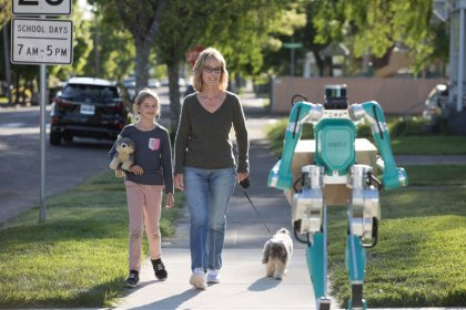 Meet 'Digit', the walking robot for Ford self-driving vans