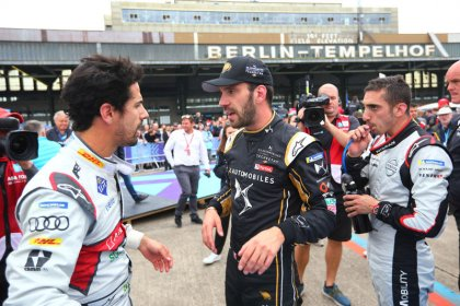 Motor racing: Di Grassi wins Berlin Formula E round for Audi