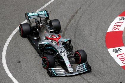 Motor racing: Hamilton put Mercedes on pole for Monaco Grand Prix