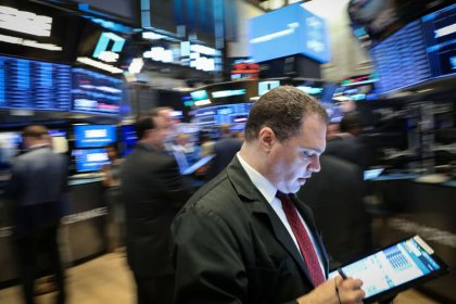 Wall St. propped up by gains in technology shares