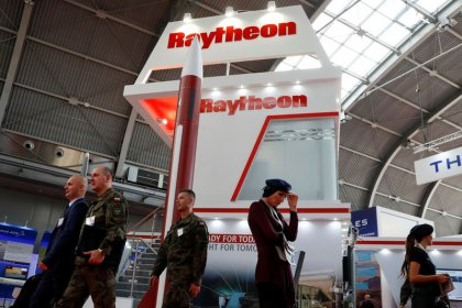 United Technologies, Raytheon slip after Trump comments on mega deal