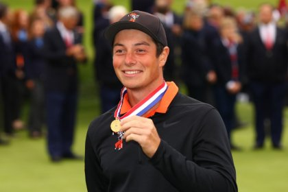 Hovland breaks Nicklaus mark with best U.S. Open score by amateur