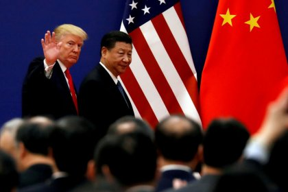 Trump says U.S., Chinese teams to restart trade talks ahead of G20