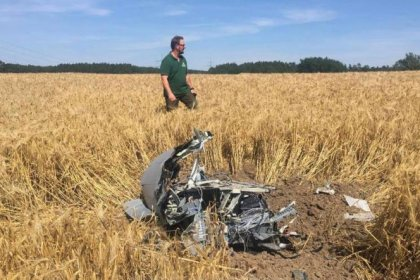 Muere un piloto en una colisión de dos Eurofighter en el este de Alemania