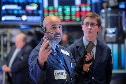 Wall Street drops on trade worries, Fed Chair Powell's speech