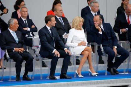 European leaders join Macron for Bastille Day parade