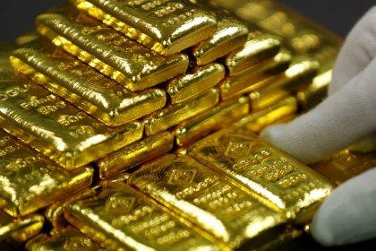 الذهب يهبط مع تجدد الشهية للمخاطرة بعد بيانات صينية مشجعة