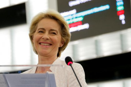 EU parliament confirms von der Leyen as next executive head
