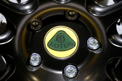 Lotus showcases first pure electric sports car