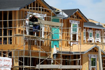 U.S. housing starts fall; permits hit two-year low