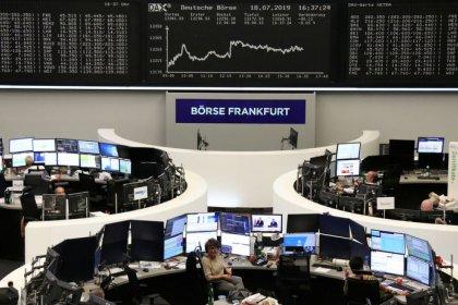 تلميحات المركزي الأمريكي تدعم أسهم أوروبا