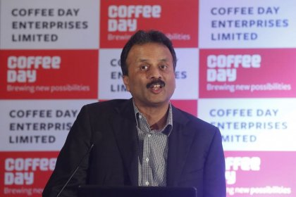 Shares of Indian coffee chain tank 20% after founder goes missing