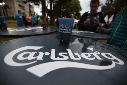 Carlsberg увеличила продажи в первом полугодии, несмотря на сложности в России