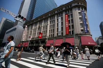 7月全国百貨店売上高は前年比2.9%減、4カ月連続マイナス