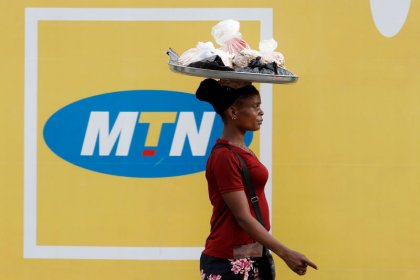 MTN Nigeria shares hit three-month high after partial reopening