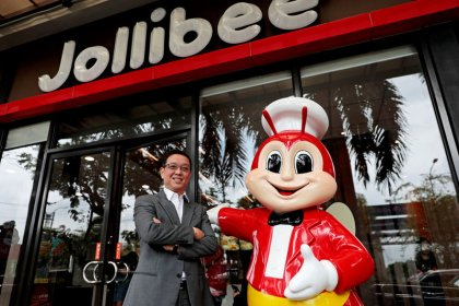 Philippine fast food specialist Jollibee hungry to expand in U.S., China