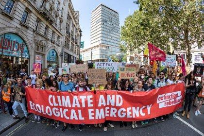 ناشطون مدافعون عن المناخ يخططون لاحتجاجات في لندن اعتبارا من 7 أكتوبر