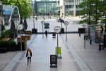 Free lunch! Bosses lure bankers back where they can see them