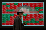 Foreigners' selling of Japanese stocks hits highest since mid-March last week