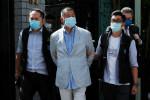 香港メディア王の黎氏、国安法違反で逮捕 周庭氏ら活動家も