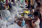 Indonesia reports its biggest daily rise in coronavirus infections