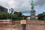 ناشط روسي شاب يتحرك بمفرده للضغط على الحكومة بشأن تغير المناخ