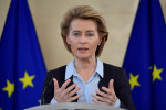 EU to propose digital vaccination passport in March, von der Leyen says