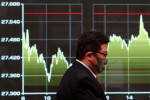 Asia shares made hesitant by mixed China data, viral spread