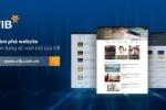 VIB giới thiệu website ngân hàng số hoàn toàn mới