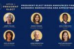 拜登官宣新政府经济团队:耶伦获财长提名 一关键职位仍空缺
