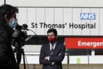 「治療効果出ている」 報道官がジョンソン英首相の症状明かす