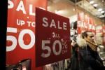 Istat: flop saldi, vendite gennaio -0,7%