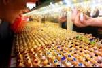Giá vàng ngày 14/11: Giá vàng SJC giậm chân tại chỗ