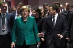Réforme de la zone euro: Merkel et Macron veulent une position commune en mars