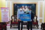Sacombank tiếp tục đóng góp 500 triệu đồng phòng chống Covid-19 và ngập mặn