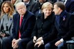 Front uni de Merkel et Macron face à Trump malgré des divergences