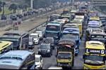Sebanyak 90.000 Kendaraan Serbu Jakarta Hari Ini