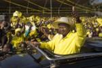Ugandan opposition leader accuses Museveni of exposing himself