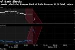 India's Rupee, Bonds Slide as RBI Chief's Exit Roils Markets