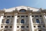 Borsa: Milano debole (-0,4%), giù Buzzi