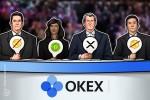 Terceira maior exchange OKEx lista fluxo de Ripple e Bitcoin Cash na plataforma cliente-a-cliente