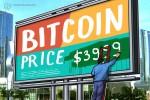 Bitcoin prueba de nuevo los USD 4.000 en medio de la anticipación de la finalización del acuerdo comercial entre EE.UU. y China