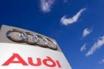 Onthulling Audi's in achtertuin Tesla