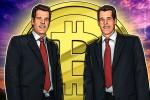 """""""Estamos aí para o que der e vier"""": gêmeos Winklevoss lançam aplicativo de negociação de cripto"""