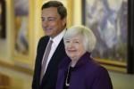 Tra supereuro e Trump,Bce e Fed al bivio
